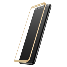 Защитное стекло Samsung Galaxy S8 Gold