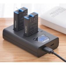 Зарядное устройство Kingma на 2 батареи для GoPro Max
