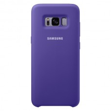 Чехол накладка Samsung Silicone Cover для Samsung Galaxy S8 Violet