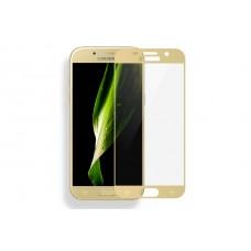 Защитное стекло Samsung Galaxy A3 2017 Gold