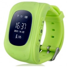 Детские смарт часы Smart Baby Watch Q50 с GPS трекером Green