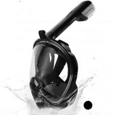 Маска для снорклинга с креплением под GoPro L/XL Black