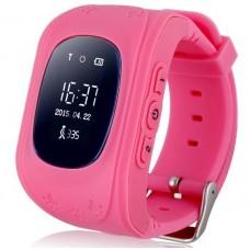 Детские смарт часы Smart Baby Watch Q50 с GPS трекером Rose