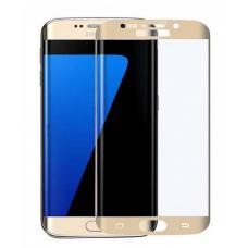 Защитное стекло Samsung Galaxy S7 Edge Gold