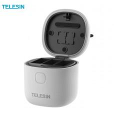Зарядное устройство (кейс) Telesin на 3 батареи для GoPro Hero 9