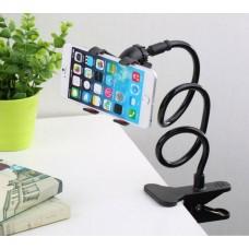 Гибкий держатель с прищепкой для телефона