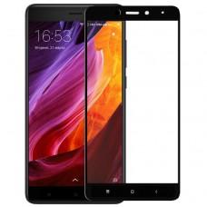 Защитное стекло Xiaomi Redmi Note 4x Black высокая версия