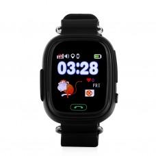 Детские смарт часы Smart Baby Watch Q90 с GPS трекером Black