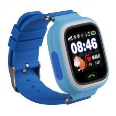 Детские смарт часы Smart Baby Watch Q90 с GPS трекером Blue