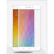 Защитное стекло Xiaomi Redmi 4 White