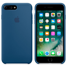 Чехол накладка Silicone Case для Apple iPhone 7 Plus/8 Plus Ocean Blue
