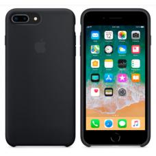 Чехол накладка Silicone Case для Apple iPhone 7 Plus/8 Plus Black