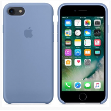 Чехол накладка Silicone Case для Apple iPhone 7/8 Azure