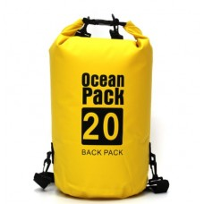 Водонепроницаемый мешок Ocean Pack 20 л Yellow