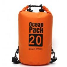 Водонепроницаемый мешок Ocean Pack 20 л Orange