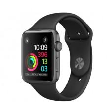 Смарт часы Apple Watch Series 2 42mm Spase Gray Aluminum Sport Band Black