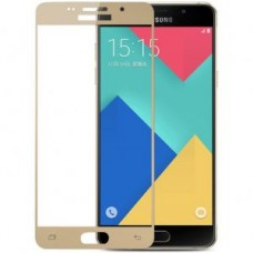 Защитное стекло Samsung Galaxy A7 2016 Gold