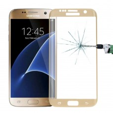 Защитное стекло Samsung Galaxy S7 Gold