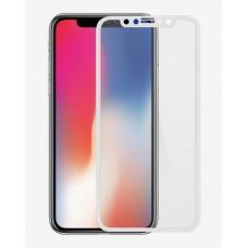 Защитное стекло Apple iPhone X 3D White