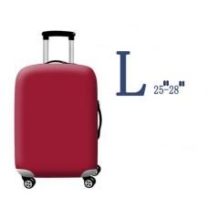 "Чехол для чемодана размер L (25""-28"") Red"