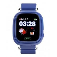 Детские смарт часы Smart Baby Watch Q90 с GPS трекером Dark Blue