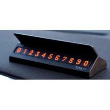 Табличка с номером телефона на панель авто Xiaomi Mi BCase TITA mini